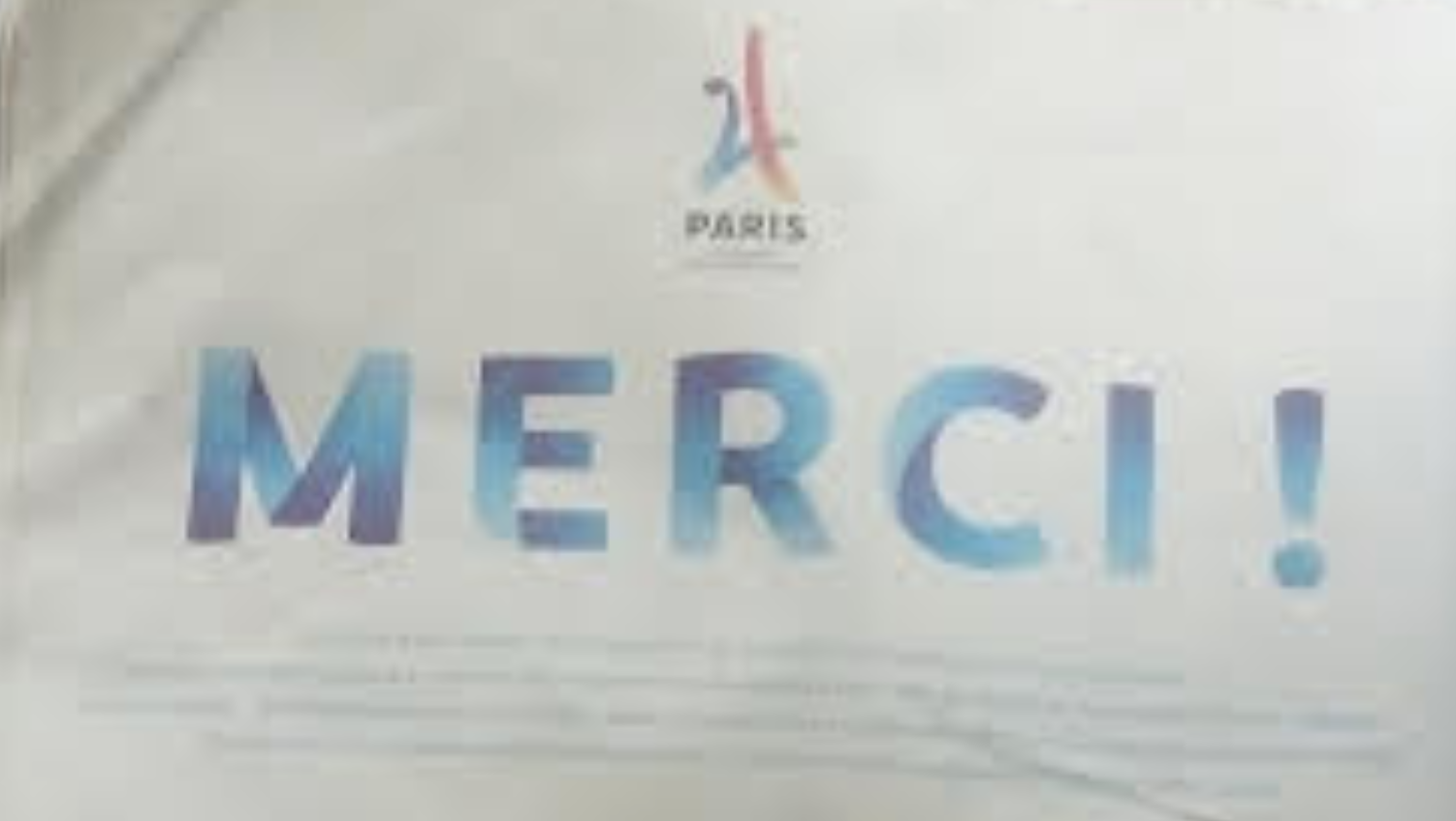 Paris 2024 : Merci qui !?