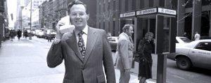 Premier téléphone en 1973 à New York