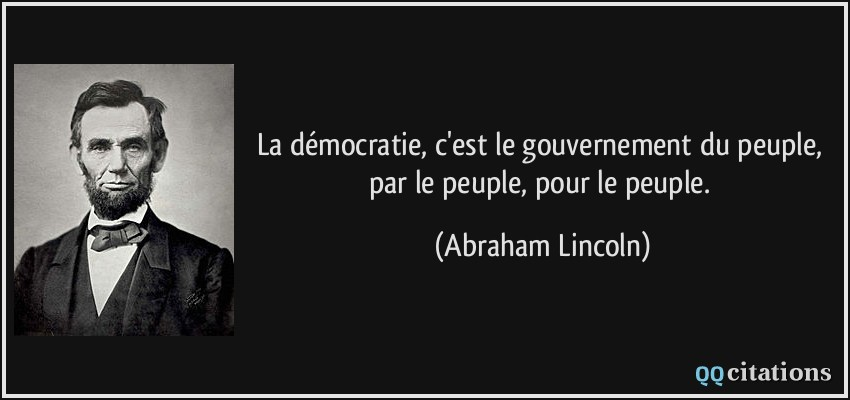 Le Vaillant Petit Economiste Citation La Democratie C Est Le