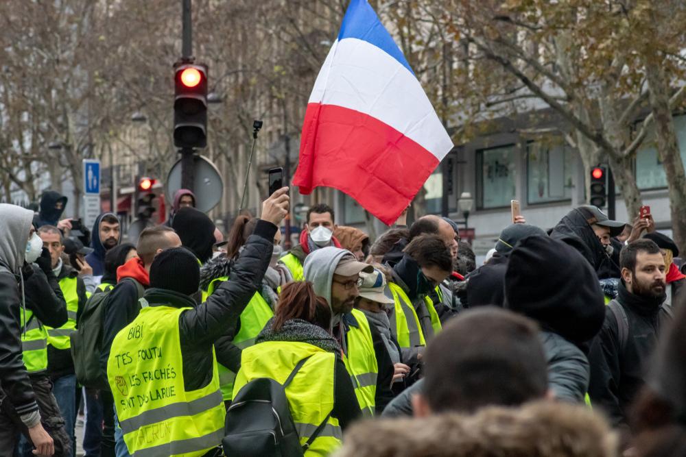 La France rit jaune